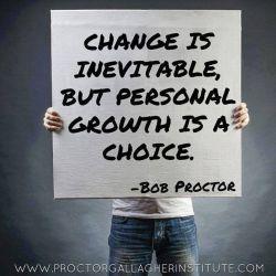 שינוי הוא בלתי נמנע