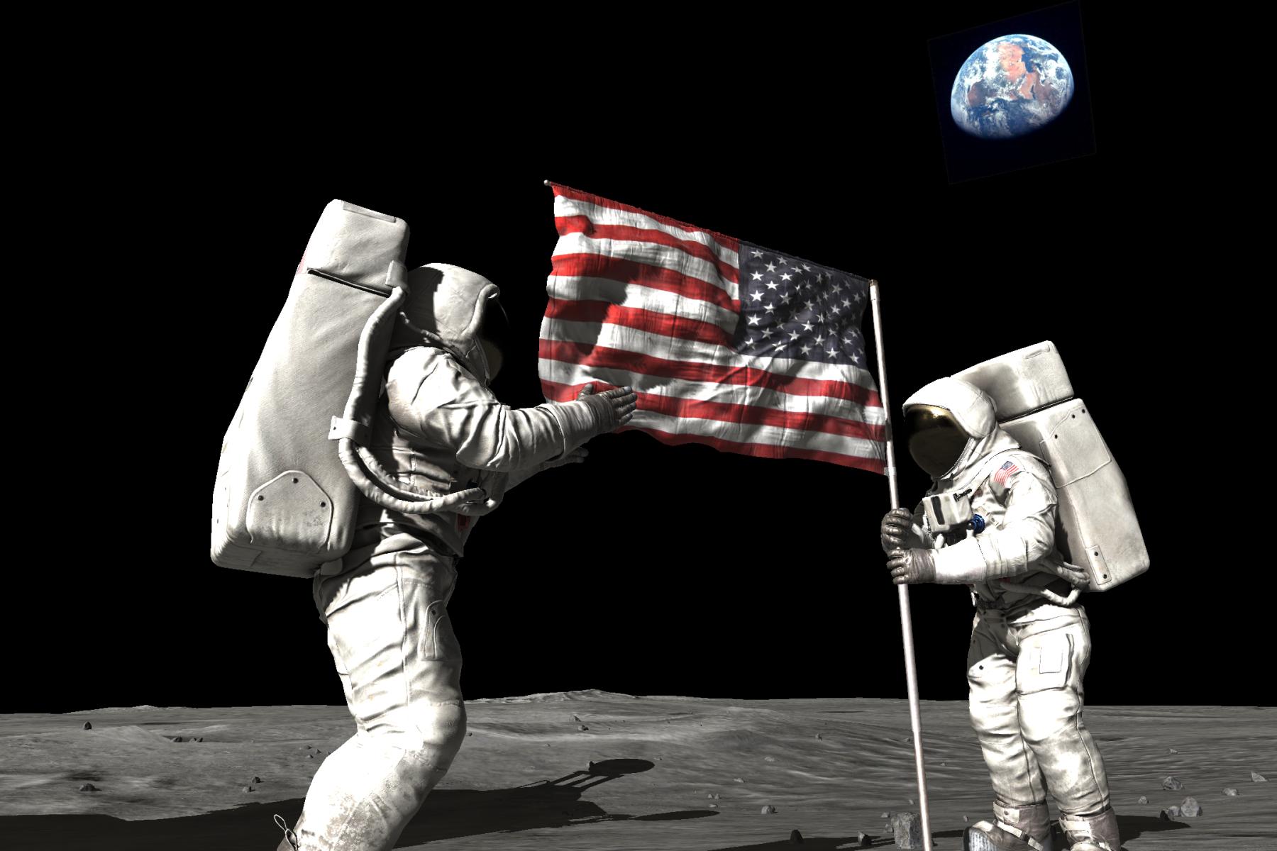 עוז קורן נחיתה על הירח